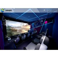 Buy cheap Gaming Room Luxury 5D movie theater seats With Dynamic Effects product