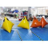 Buy cheap Colorful Sea Inflatable Marker Buoy Hot Air Welded Seams Stainless Fittings product