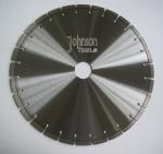 Professional Key Slot Type Diamond Stone Cutting Blades 400mm