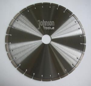 Quality Professional Key Slot Type Diamond Stone Cutting Blades 400mm for sale