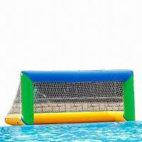 Buy cheap Water Inflatable Goal, Customized Sizes, Shapes, Logo Prints and Colors are Accepted product