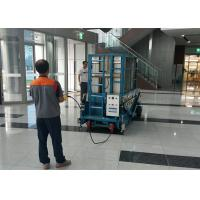 Buy cheap 16m Multi Mast Mobile Elevating Work Platform Vertical Mast Lift For Single Man product