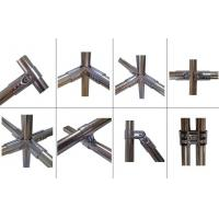 Buy cheap Slivery Steel Pipe Jointing Chrome Pipe Connectors Polishing Chrome Plated Surface Treatment product