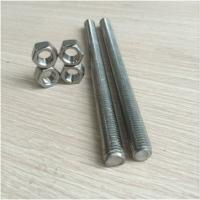Buy cheap M30 Class 8.8 Zinc Plated Carbon Steel 1m Threaded Rod product