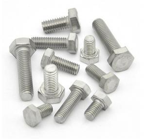 Buy cheap High Precision Galvanized Hex Bolts Anti Corrosion Hardware Accessories product
