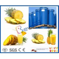 Buy cheap CE Pineapple Juice Extractor / Pineapple Processing Plant For NFC Pineapple Juice Processing product
