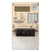Buy cheap Keypad Single phase Prepaid Energy Meters with STS / IEC standard product