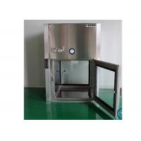Buy cheap GMP Standard Dynamic Air Shower Pass Box For Pharmaceutical Factory product
