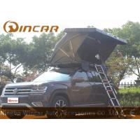 Buy cheap Black Hard Shell Roof Top Tent Hardtop / Vehicle Pop Up Tents With One Side Open product