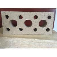 Quality low water absorption hollow clay brick , hollow building blocks for walls for sale