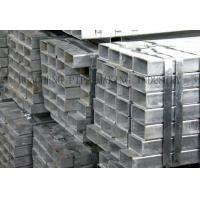 Quality Cold Drawing Galvanized Steel Pipe for Military , BK BKS BKW ST44 Square Steel Tube for sale