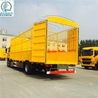 Buy cheap Double Containers Promo Sino Semi Trailer Trucks Low Bed3 AXLES from wholesalers