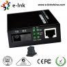 Buy cheap Mc101xl / Mc102xl Fiber Ethernet Media Converter Single Mode 20km Distance , SC BIDI product
