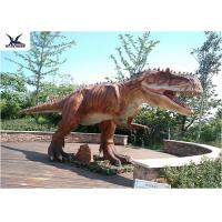 Buy cheap Playground Decoration Giant Dinosaur Statue Realistic Moving Animatronic product