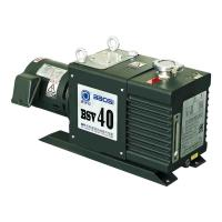 Buy cheap BSV40 12 L/s Oil Sealed Dual Stage Rotary Vane Vacuum Pump Lubricated in Green Color product
