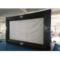Buy cheap Portable Inflatable Projector Movie Screen Logo Printing EN14960 Approved product