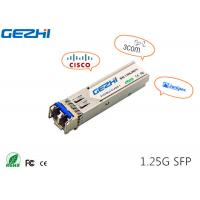 Buy cheap 1G SFP 1310nm 20km SFP transceiver SFP Fiber Module compatible with verious brand product
