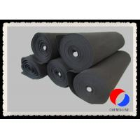 Buy cheap Activated Carbon Good Formability Felt 1MM - 3MM Thickness For Fume Purifiers product