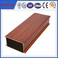 Buy cheap Hot Sale Wood Grain Aluminium Alloy Pipes, aluminum tubes extrusion product