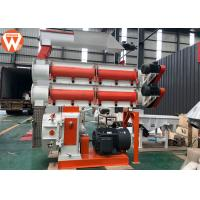 Buy cheap 1.5 - 12mm Pellet Size Poultry Animal Feed Mill Pellet Machine With Double Layer Conditioner product