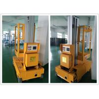 Buy cheap Aerial Vertical Single Mast Lift Self Propelled For Quick Maintenance product