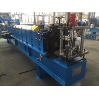 Quality 1.5mm Z  Purlin Cold Roll Forming Machine 14 Stations with 1.2 inch Chain for sale