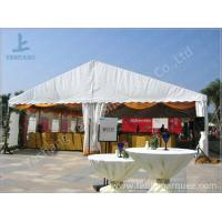Quality White Roof Cover outside event tents for Golf Villas Sales Conference for sale