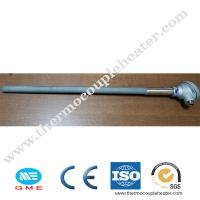 Buy cheap 0-1500C Temperature Range Rtd Type K Silicon Carbide Protect Tube Thermocouple product