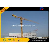 Buy cheap 0.6r/Min Slewing Speed Topless Tower Crane For Constructions CE&ISO product