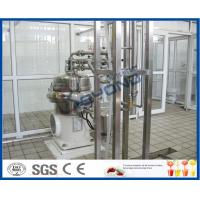 Buy cheap PLC Touch Screen Control Milk Products Manufacturing Machines For Pure Milk / UHT Milk / Long Shelf Life Milk product
