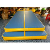 Buy cheap Double Wall Fabric Inflatable Air Track Anti Shock CE / UL Approved product