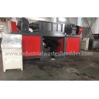 Buy cheap Plastic Drum Industrial Waste Shredder Low Speed Rugged Mechanical Design from wholesalers