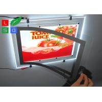 Buy cheap Ultra Thin Super Bright LED Crystal Magnetic Light Box With Single Cable Hanging from wholesalers