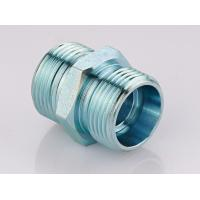 Buy cheap Metric Straight Thread Fittings , Male Bsp Threaded Pipe Fittings 1CB / 1DB product