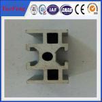 Buy cheap Industrial aluminium alloy track profiles, OEM design U Shape Extruded aluminium track product