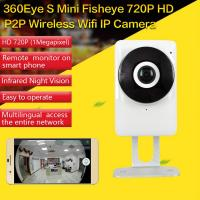 Buy cheap EC1 360Eye S 185degree Panorama Camera iOS/Android APP Night Vision 720P CCTV IP P2P WiFi Wireless Surveillance Security product