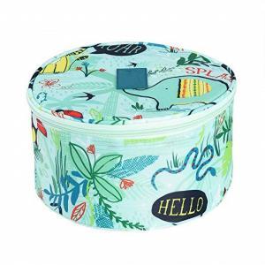 Buy cheap Round Design Undergarment Travel Bag / Travel Lingerie Organiser Lightweight product