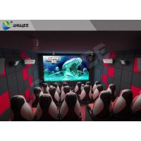 Buy cheap Indoor Entertainment 9D XD 5D Movie Theater With Emergency Stop Buttons product