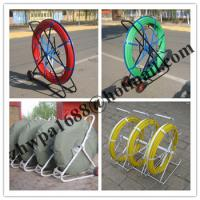 Buy cheap HDPE duct rod,Reels for continuous duct rods,Pipe traker traceable midi duct rodder product