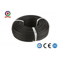 Buy cheap 1500V DC 6qmm Solar Pv Cable / Flame Retardant Dc Cable For Solar Panels product
