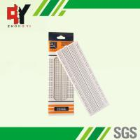 Quality Self Adhesive Electronic Bread Board , Full Size Solder Breadboard 830 Tie Points for sale
