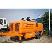 Buy cheap Zoomlion Trailer Mounted Concrete Pump HBT110-26-390RS With 800L Hopper from wholesalers