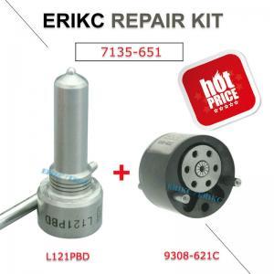 Buy cheap ERIKC 7135-651 diesel injector 9308621C valve nozzle repair kits L121PBD 9308-621C valve for EJBR02201Z EJBR01302Z EJBR0 product