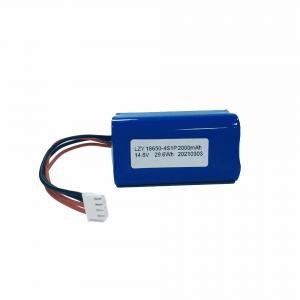 Buy cheap UN38.3 14.8V 2000mAh Liion Battery Pack IEC62133 Lithium Ion Battery Pack product