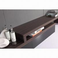 Buy cheap TV Stand with MDF, glossy paint and walnut product