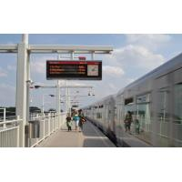 Buy cheap High Brightness Passenger Information System For Buses Single Extrusion Form product