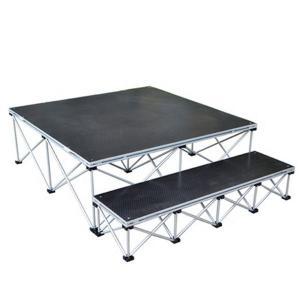 Buy cheap TUV CE Certificates Folding Aluminum Platform / Step Up Work Platform Light Weight product