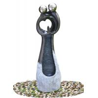 Buy cheap Contemporary Garden Fountains , Statue Water Fountains Custom Design Acceptable product