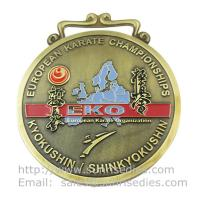 Buy cheap Personalized Metal medal manufacturer in China, custom enamel metal medallion maker, product