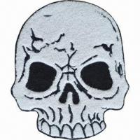Buy cheap Chenille Embroidered Patches, Suitable for Garments, Pants, Bags and Caps product